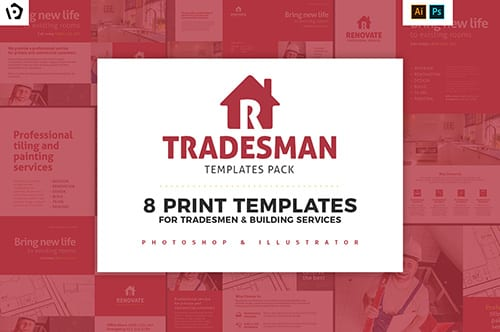 Tradesman Templates Pack