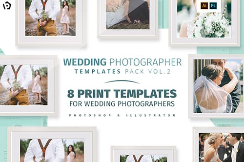 Wedding Photographer Templates Pack