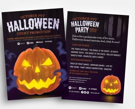 Free Halloween Flyer Template
