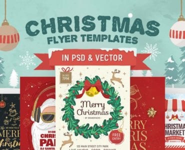 30+ Christmas Flyer Templates