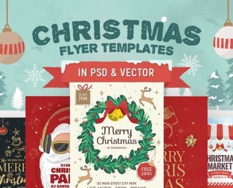30+ Christmas Flyer Templates