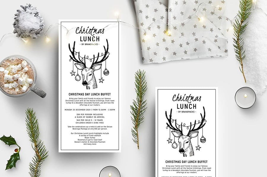 Christmas Lunch Flyer