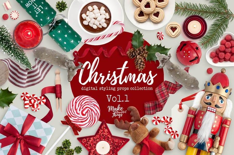 Christmas Scene Generator PSD