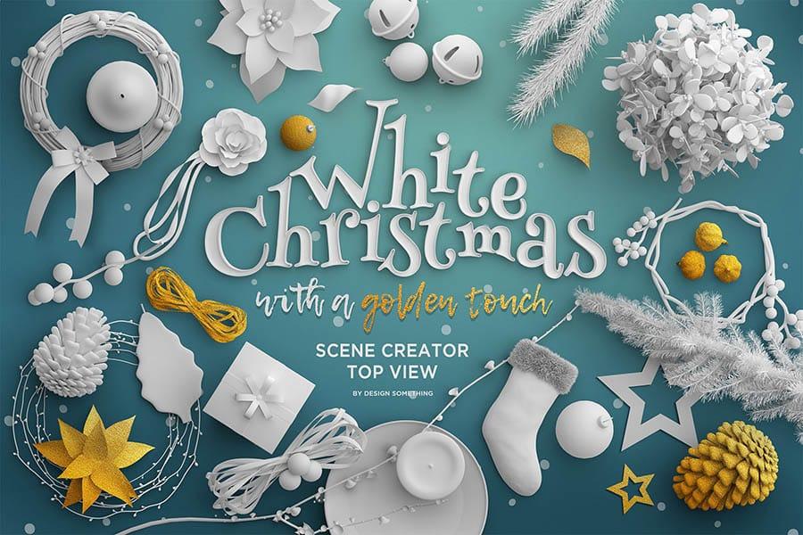 Modern Christmas Scene Creator Mockups