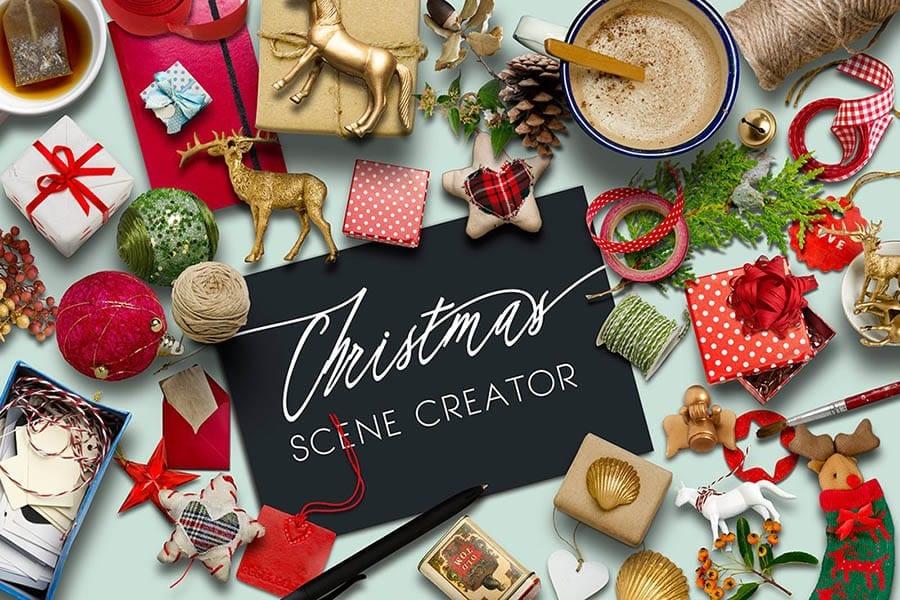 Christmas Scene Creator PSD
