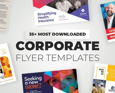 35+ Corporate Flyer Templates & Design Ideas