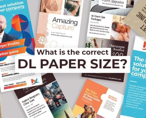 What is The Correct DL Paper Size?