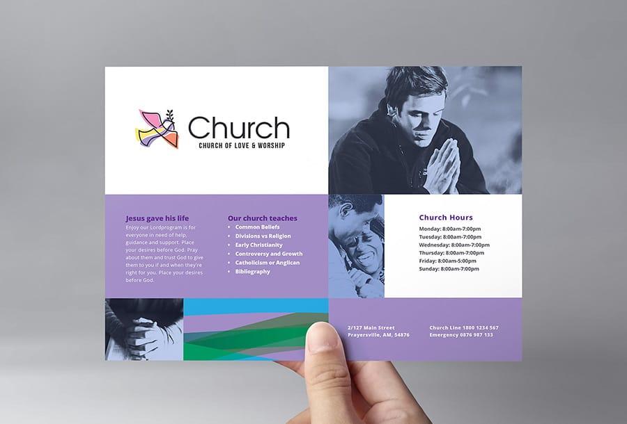 Modern Church Flyer Template