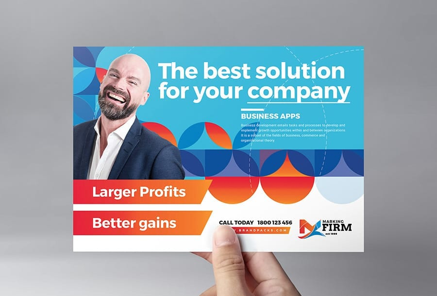Modern Corporate Flyer Template