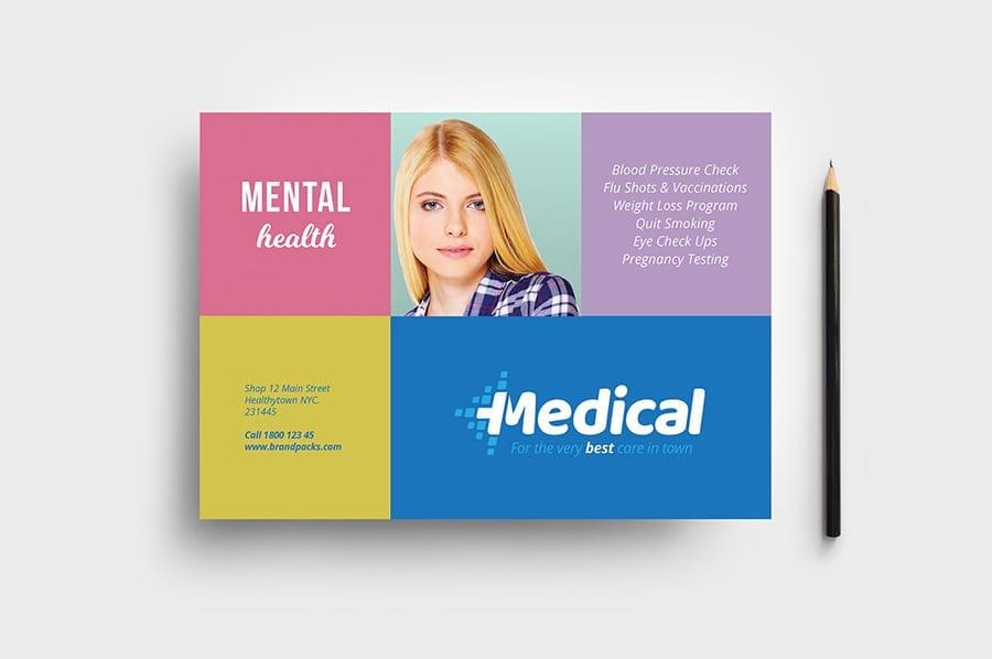 Modern Medical Flyer Template