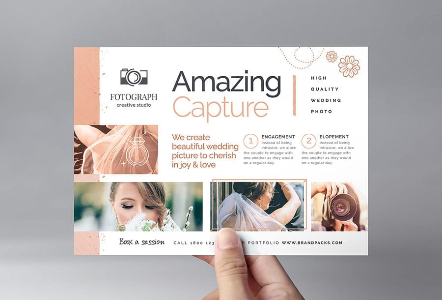Photography Service Flyer Template