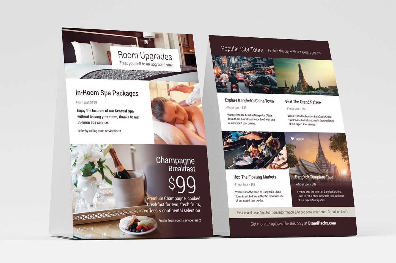 Hotel Flyer Templates