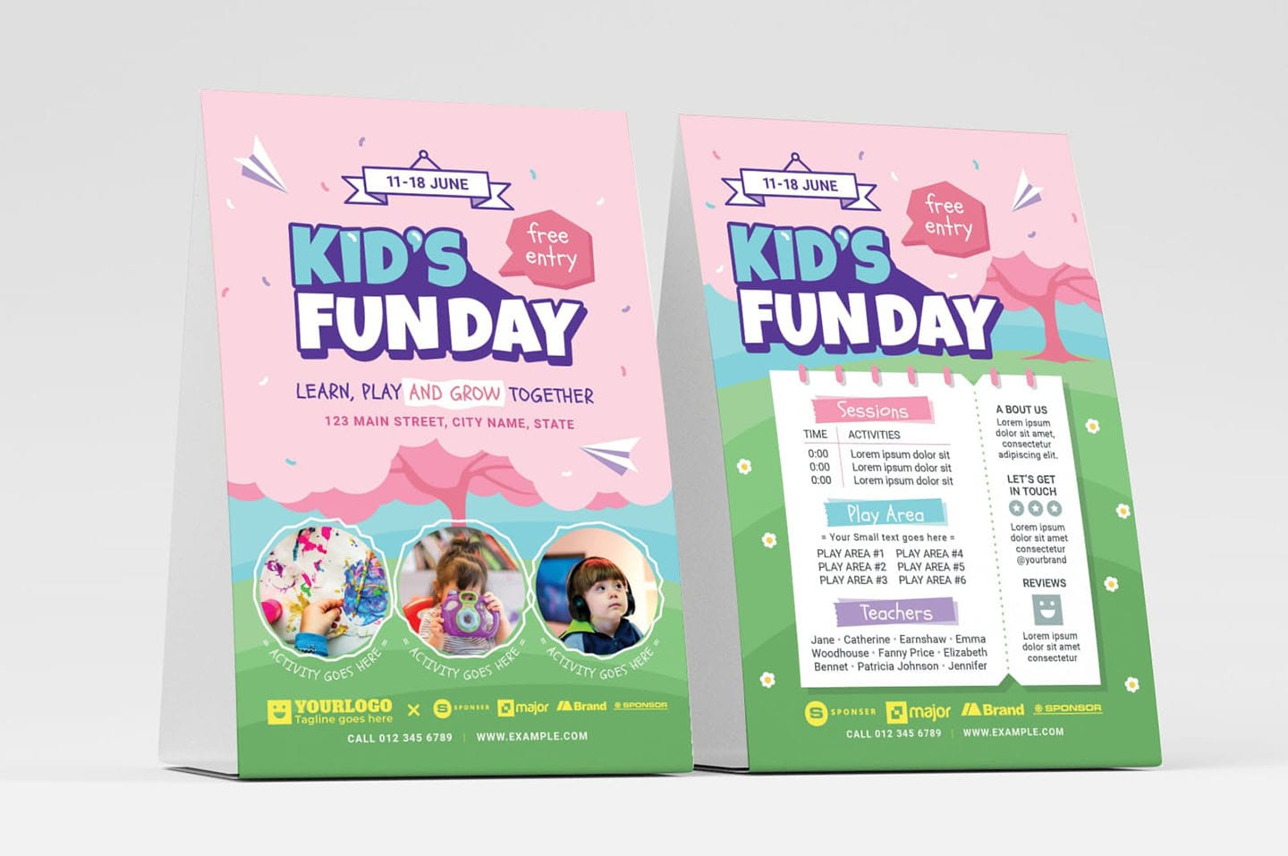 Kids Fun Day Flyer Templates