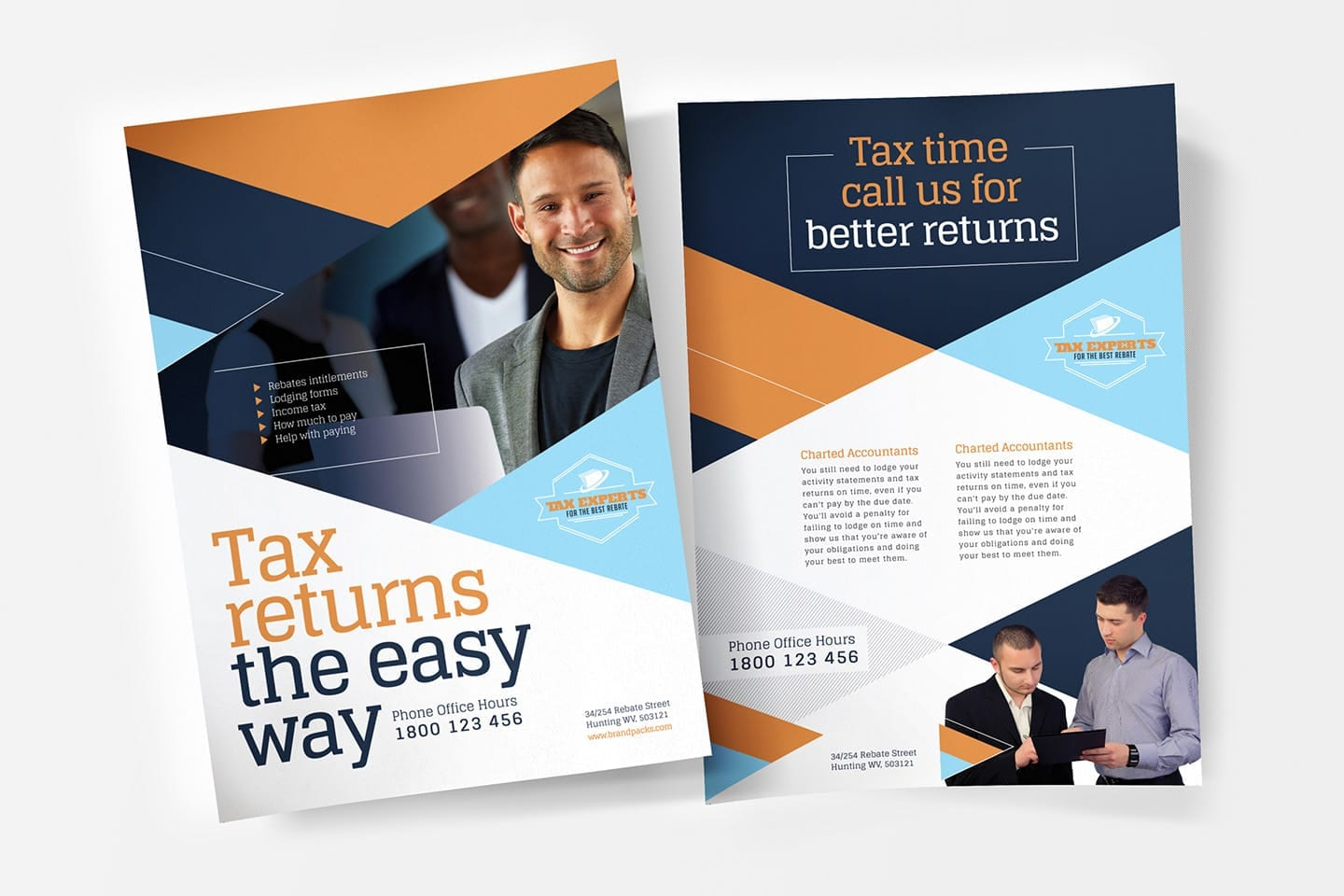 Tax Service Poster/Advertisement Templates