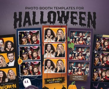 Photo Booth Templates for Halloween