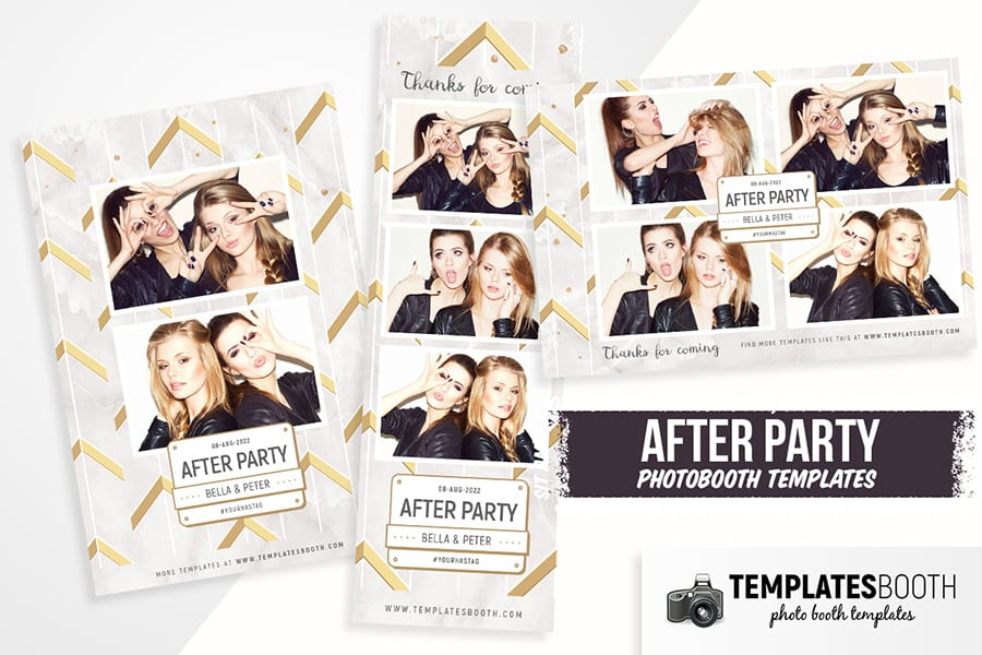 After Party Photo Booth Template