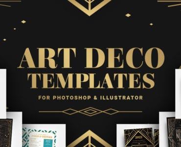 Art Deco Templates for Photoshop & Illustrator