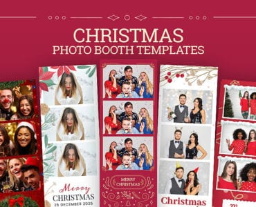Christmas Photo Booth Templates