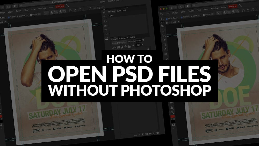 How To Open PSD Files Without Photoshop