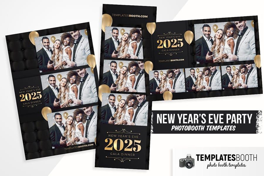 New Year's Eve Party Photo Booth Template