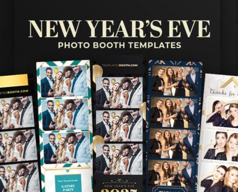 New Year's Eve Photo Booth Templates