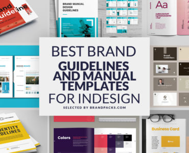 Best Brand Guidelines & Manual Templates for InDesign