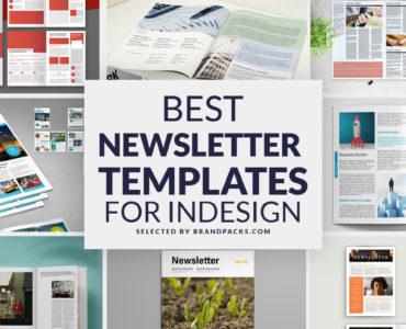 Best Newsletter Templates for InDesign