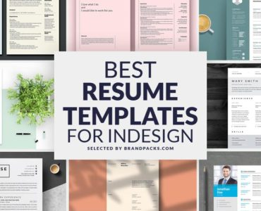 Best Resume Templates for InDesign