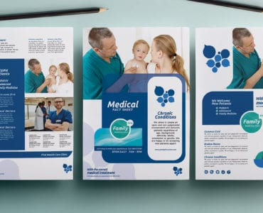 Healthcare/Medical A4 Poster Templates