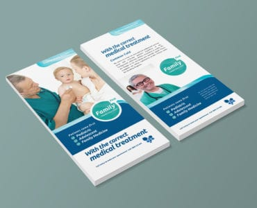 Healthcare / Medical DL Card Templates