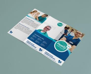 Healthcare Medical A4 Brochure Templates