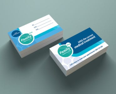 Healthcare / medical business card templates