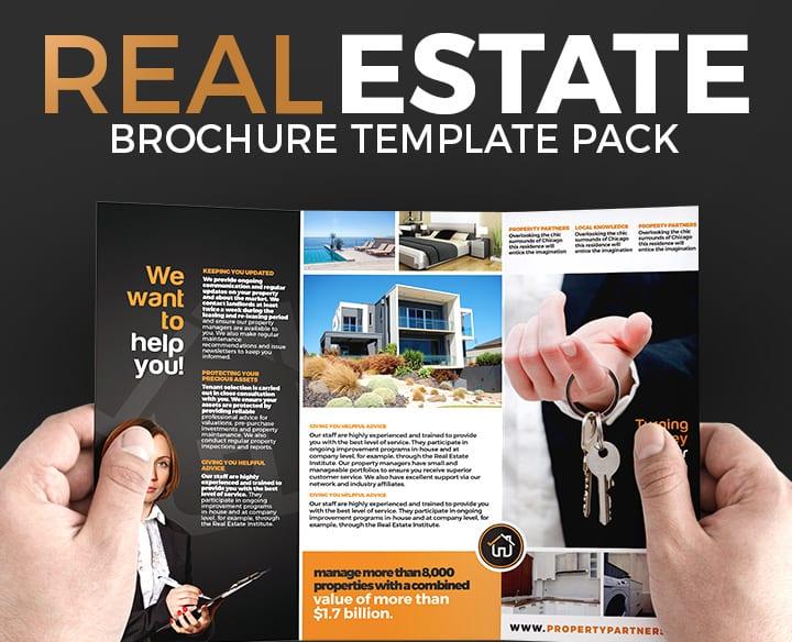 Realtor Brochure Template Pack