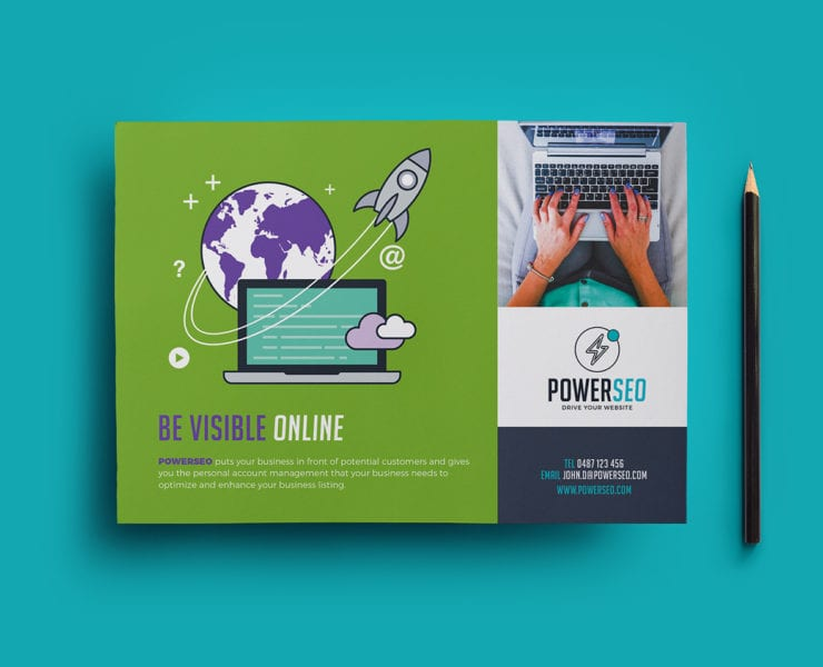 Flyer Template for SEO Agencies