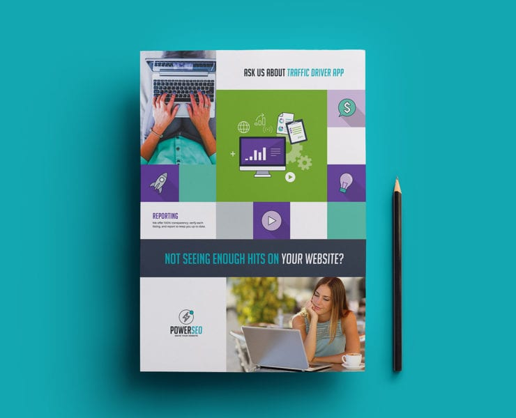 SEO Agency Poster Template