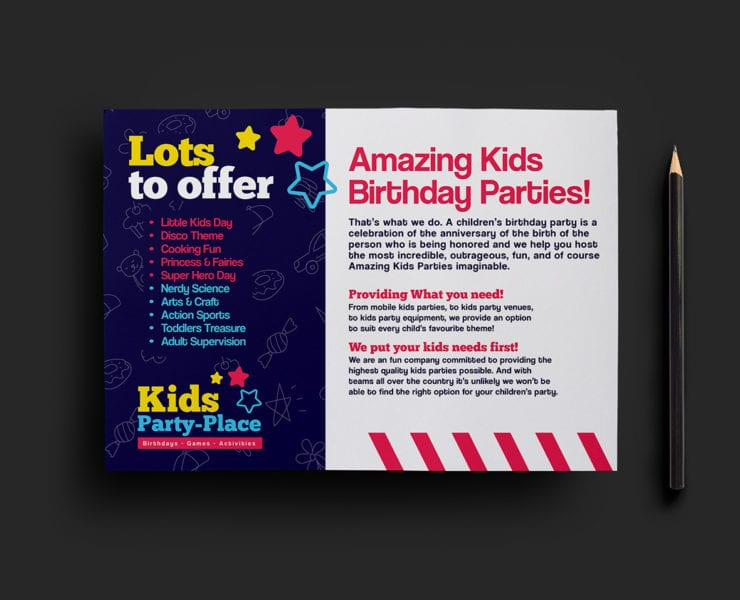 Children's Party Flyer Template