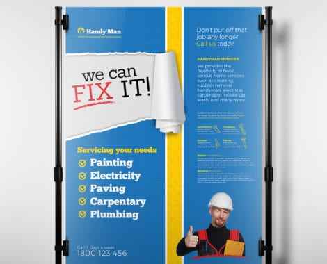 Handyman Poster Template
