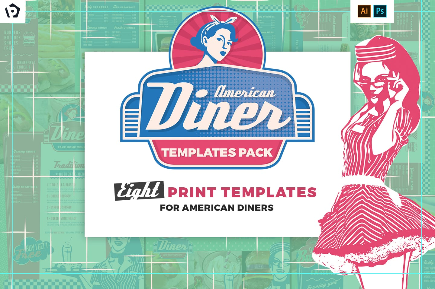 American Diner Templates Pack