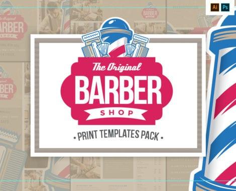 Barber's Shop Templates Pack