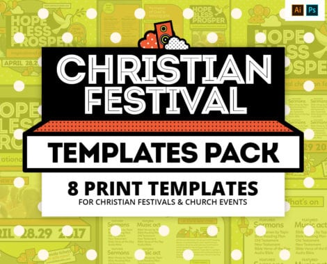 Christian Festival Templates Pack