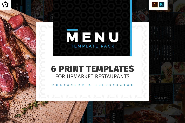 Restaurant Menu Templates Pack