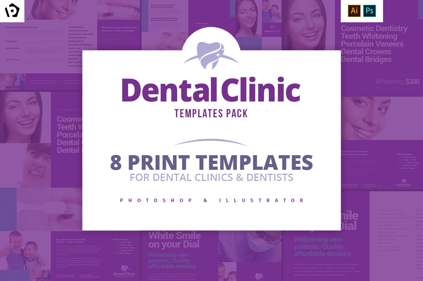 Dental Clinic Templates Pack