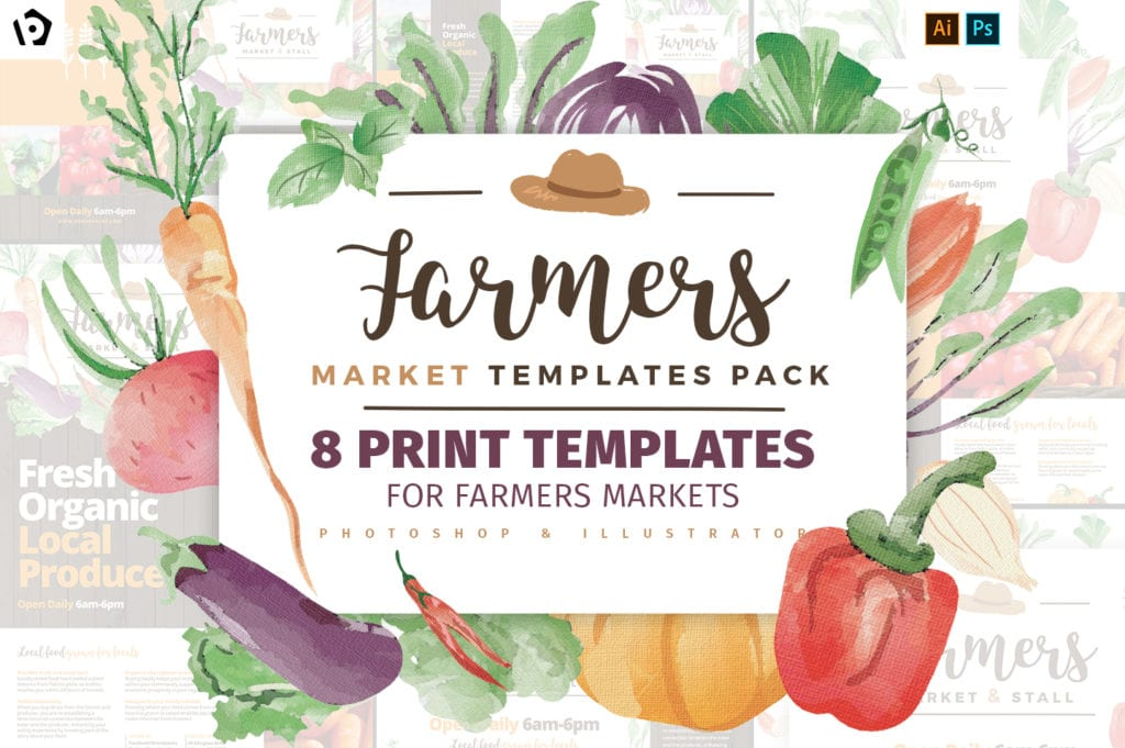 Farmers Market Templates Pack