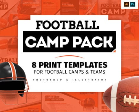 Football Camp Templates Pack