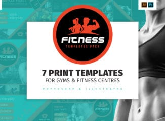 Gym / Fitness Templates Pack