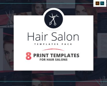 Hair Salon Templates Pack