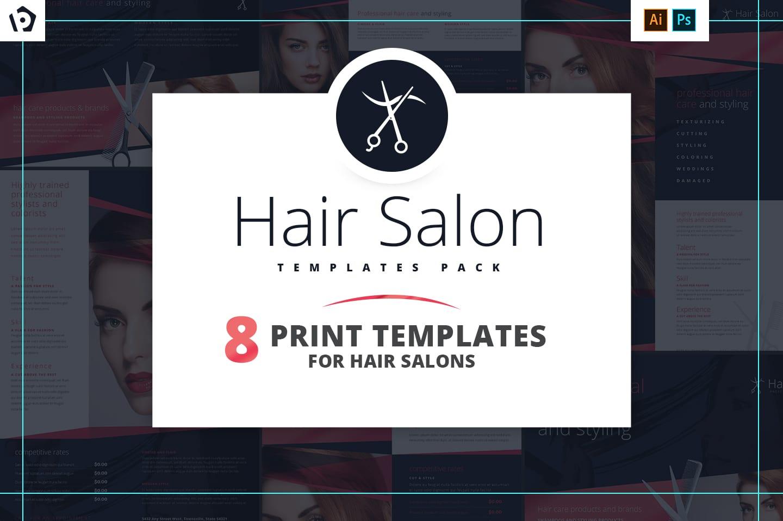 Hair Salon Templates Pack