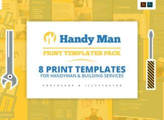 Handyman Templates Pack