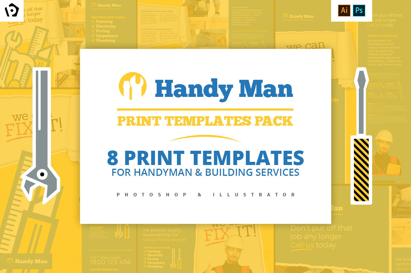 Handyman Templates Pack