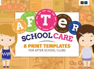 After School Kid's Care Templates Pack